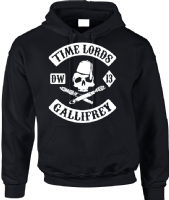 TIME LORDS HOODIE - INSPIRED BY DR.WHO MATT SMITH DAVID TENNANT SONS OF ANARCHY